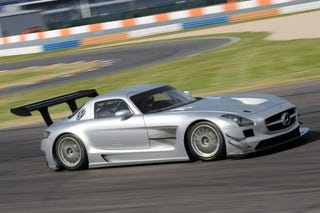 Illustration for article titled Mercedes SLS AMG GT3 Will Make You A Track Addict