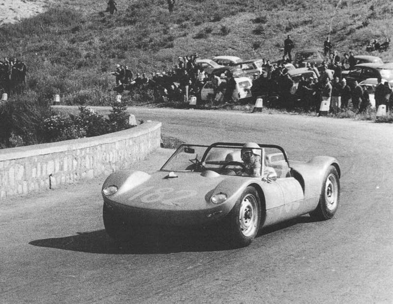 Illustration for article titled Say Goodbye To Workplace Productivity: The 1965 Targa Florio Endurance Race