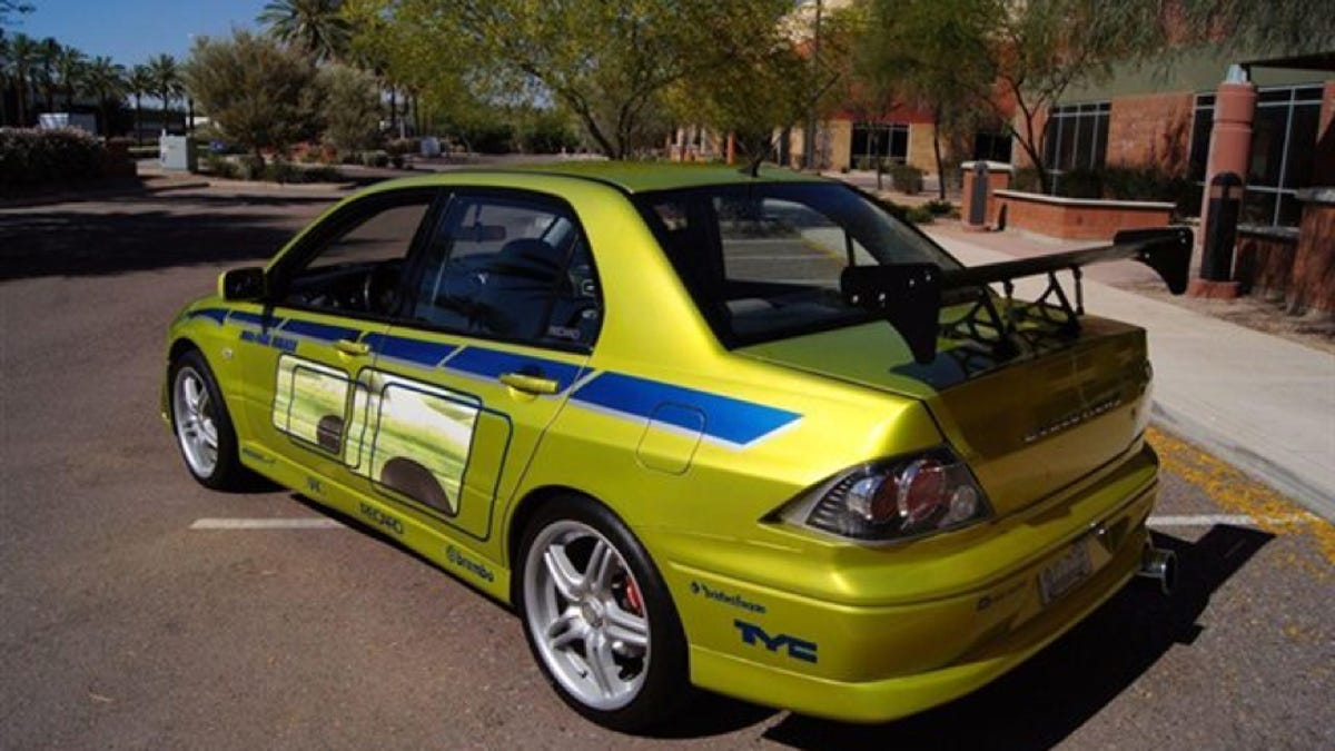 Now You Can Own Paul Walkers Mitsubishi Evo From 2 Fast Furious