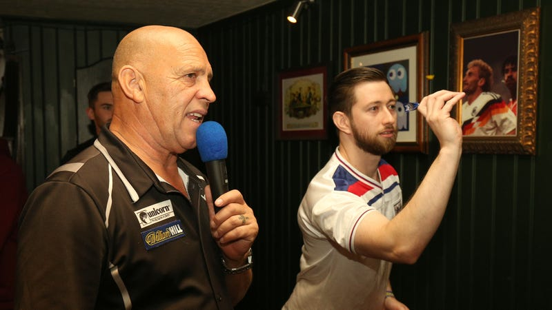 """Illustration for article titled The """"180"""" Call Turned Darts Into A True Spectacle And Became One Of The Best Sounds In Sports"""