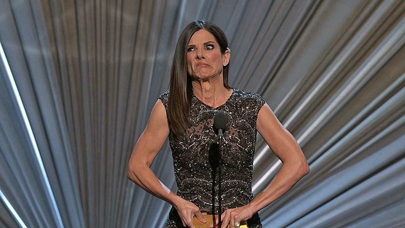 Illustration for article titled Sandra Bullock Should Take Up Weightlifting