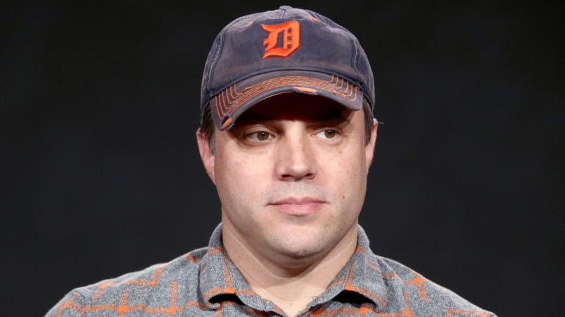 Geoff Johns at the NBCUniversal portion of the 2018 Winter Television Critics Association Press Tour.