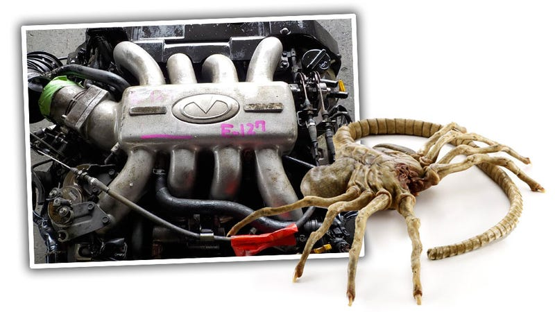 Illustration for article titled Quick Question: Is There An Intake Manifold That's Scarier-Looking Than This One?