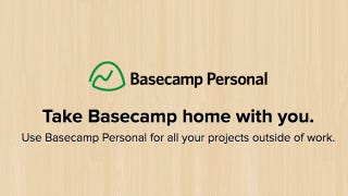 Illustration for article titled Basecamp Personal Manages Your Non-Work Projects