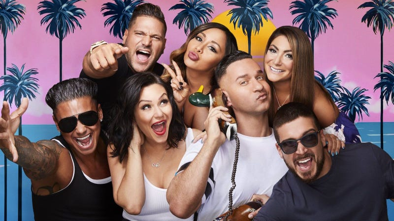 Illustration for article titled Gym, tan, laundry, and reunite with Jersey Shore Family Vacation