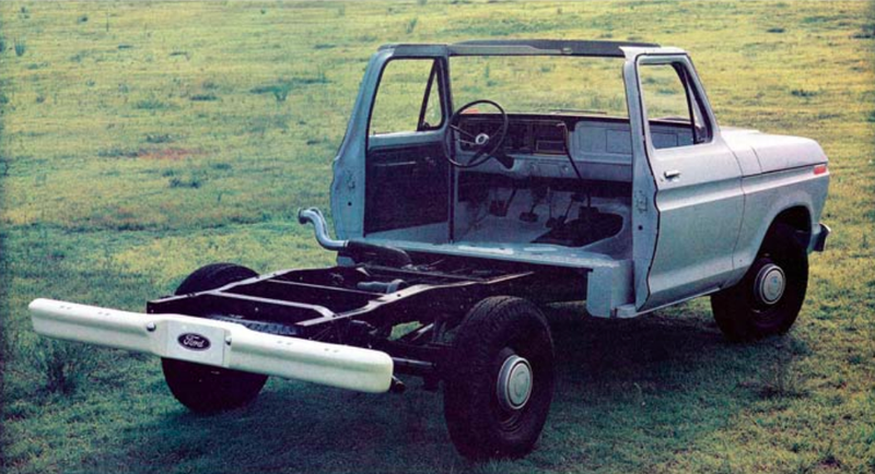 The Mexican-Market Ford B-100 Is The Three-Door Ford F-150