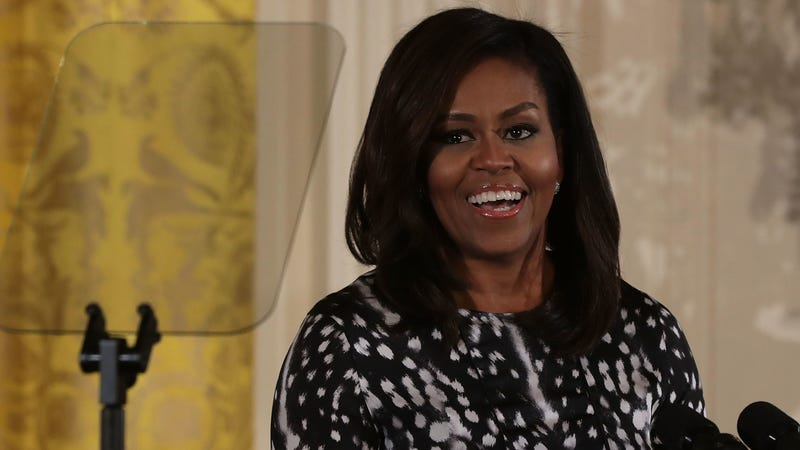 """Illustration for article titled Michelle Obama announces """"deeply personal"""" memoir"""