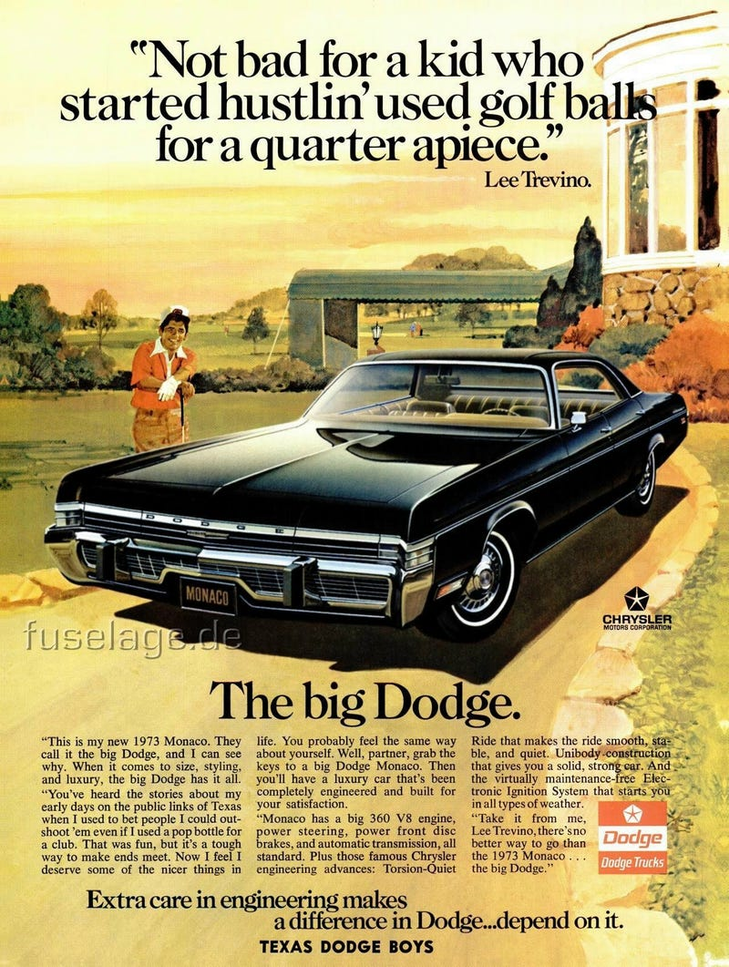 Illustration for article titled The '73 Monaco. It's the big Dodge.
