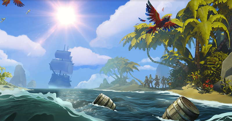 Illustration for article titled Let's Just Appreciate Sea Of Thieves' Water For A Second