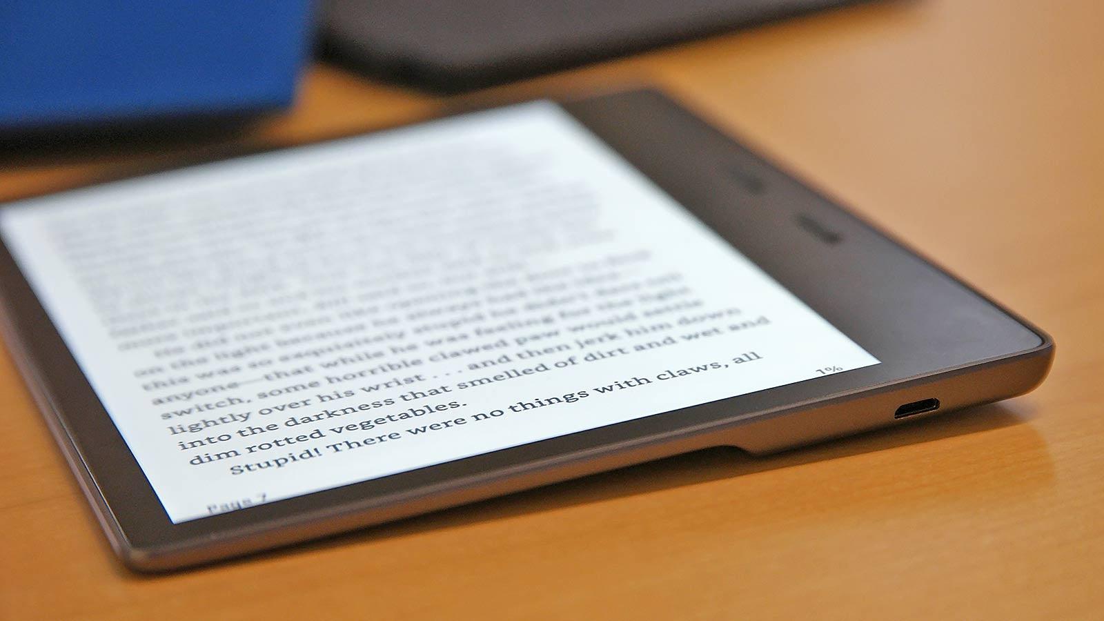 Amazon's Sick High-End Kindle Got a Serious Overhaul
