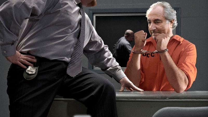 Officials say only Madoff has the devious skills needed to avert total catastrophe.