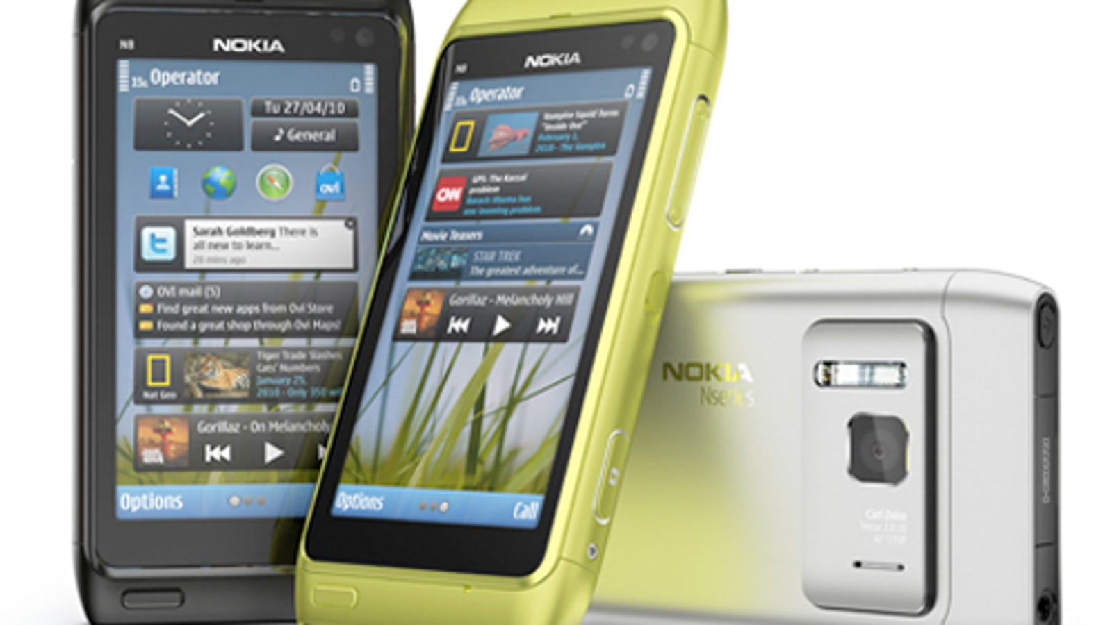 Nokia N8 Official, With 12MP Camera and 720p Video Recording