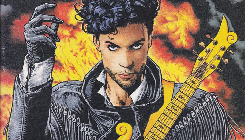Illustration for article titled That Time Prince Became an Actual Superhero