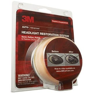 Illustration for article titled Review: 3M Headlight Restoration kit 39008