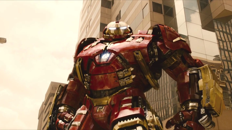 The Hulkbuster suit from Age of Ultron