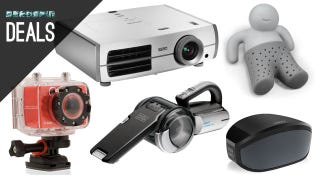 Illustration for article titled Deals: Projector for Football Season, Home Audio Upgrades, Action Cam