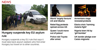Illustration for article titled Hoppá-hoppá! Csak nem vezető hír vagyunk a BBC-n?
