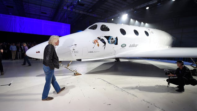 Richard Branson Says He's Going to Send People Into Space by Christmas