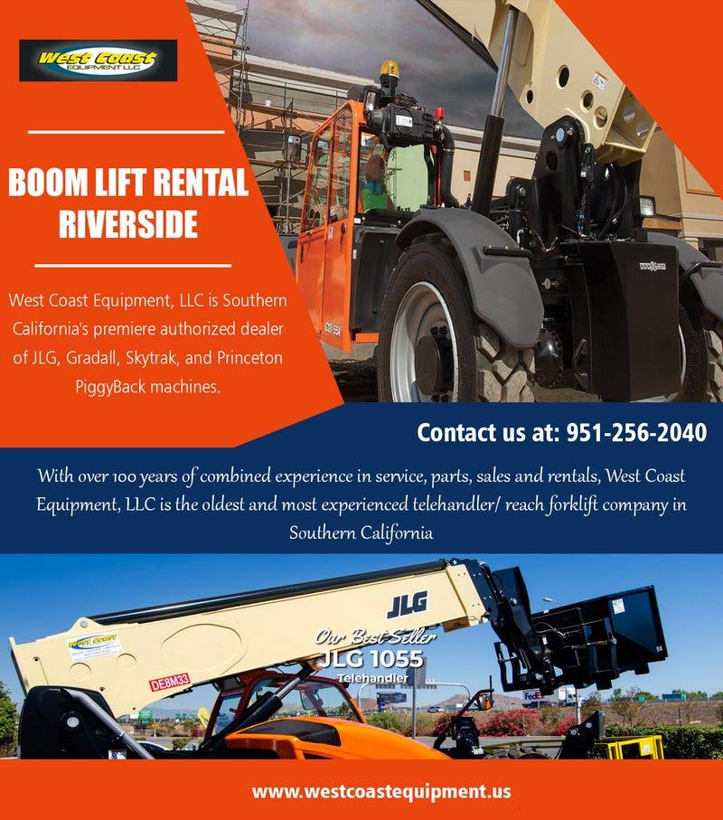 Illustration for article titled Boom Lift Rental Riverside||westcoastequipment.us||1-9512562040