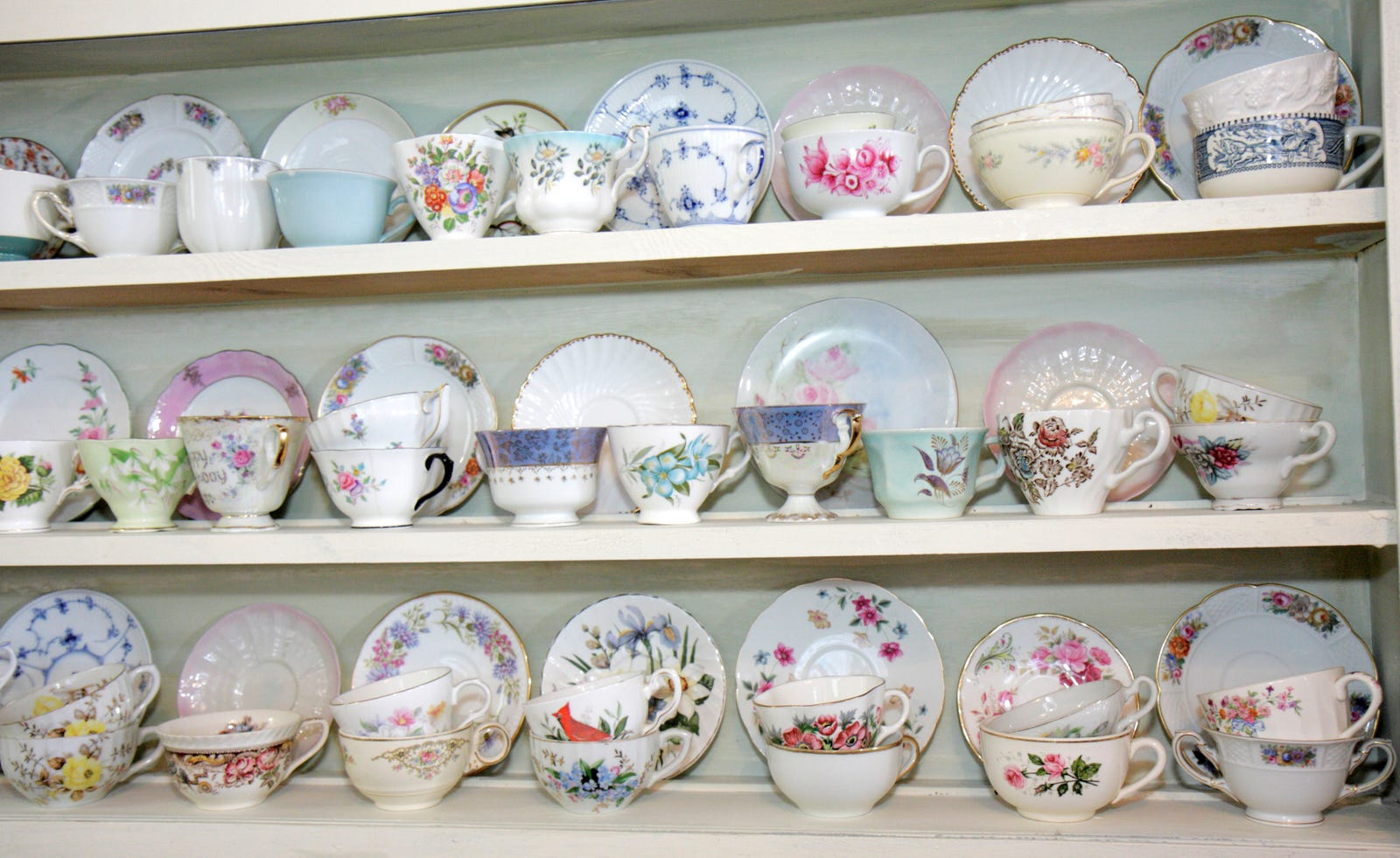 What should young people do with Grandma\'s china?