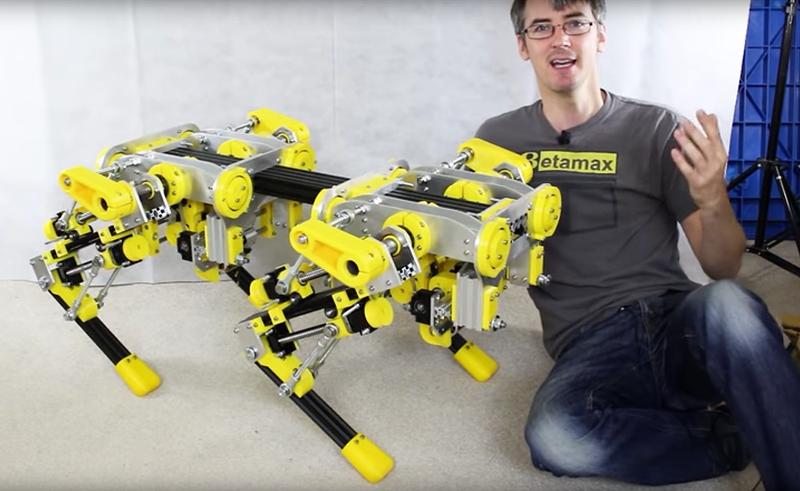 Illustration for article titled El proyecto de electrónica definitivo: fabricar tu propio perro robot como los de Boston Dynamics