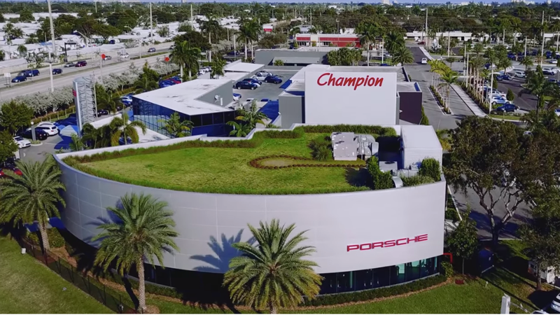 Champion Porsche accused one of its former workers in the lawsuit filed Sept. 7