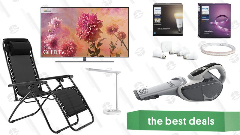 Thursday S Best Deals Samsung Tv Refurbished Ipads Coffee Makers Smart Home Lighting And More