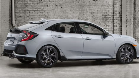Honda Will Sell You A Civic Hatchback With Three Pedals And A