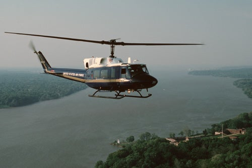 These Elite Military Helicopter Units Fly Washington's Power Players