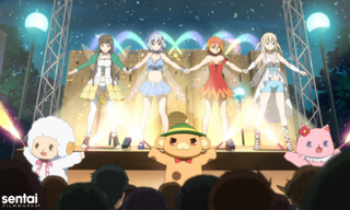 """Illustration for article titled """"Amagi Brilliant Park"""" English Dub Introduction With Trailer And Cast List"""