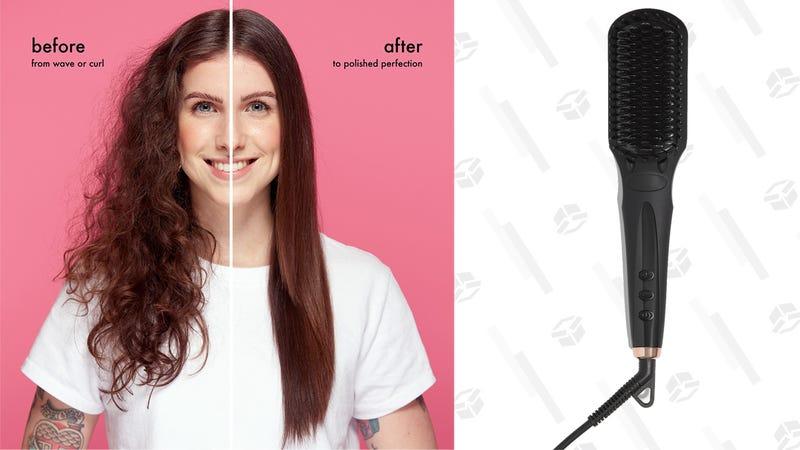 Amika Polished Perfection Straightening Brush | $96 | Sephora