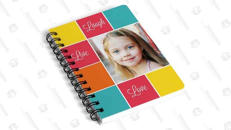Custom 5x7 Lined Notebook | $5 | Walgreens | Promo code JOURNALIT