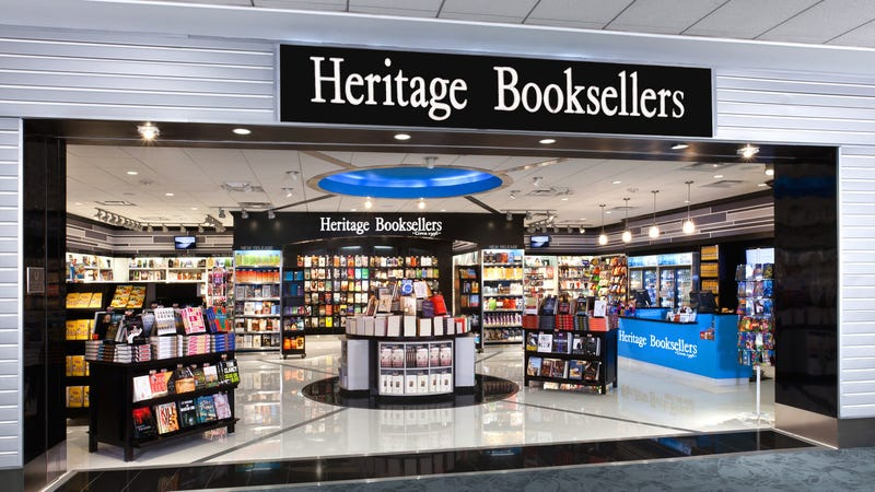 Heritage Booksellers at the Charlotte Douglas International Airport