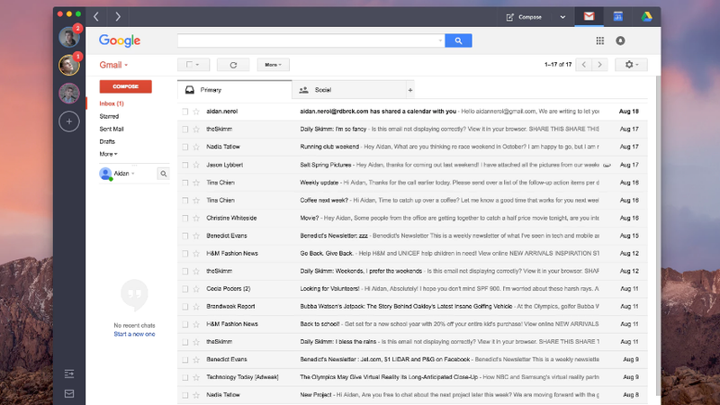 Shift Is a Desktop Email Client That Easily Switches Between Gmail ...