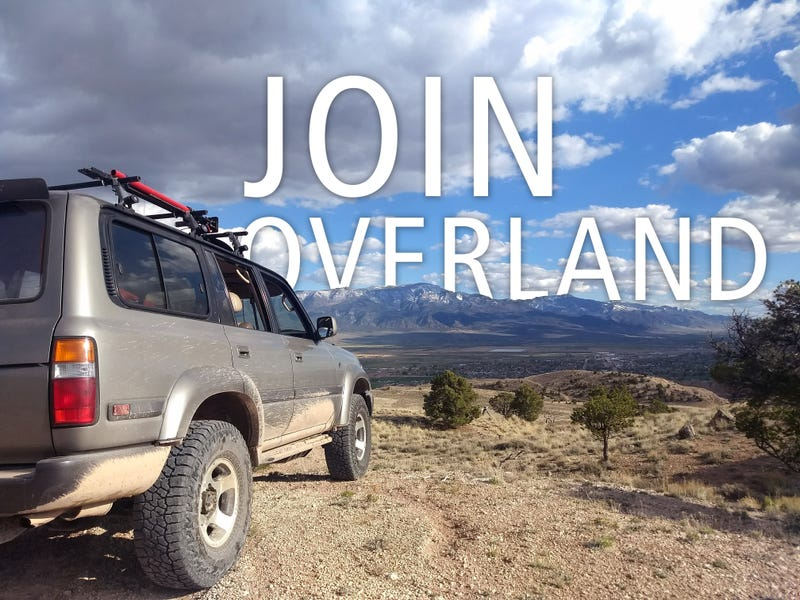 Illustration for article titled JOIN OVERLAND & EXPEDITION