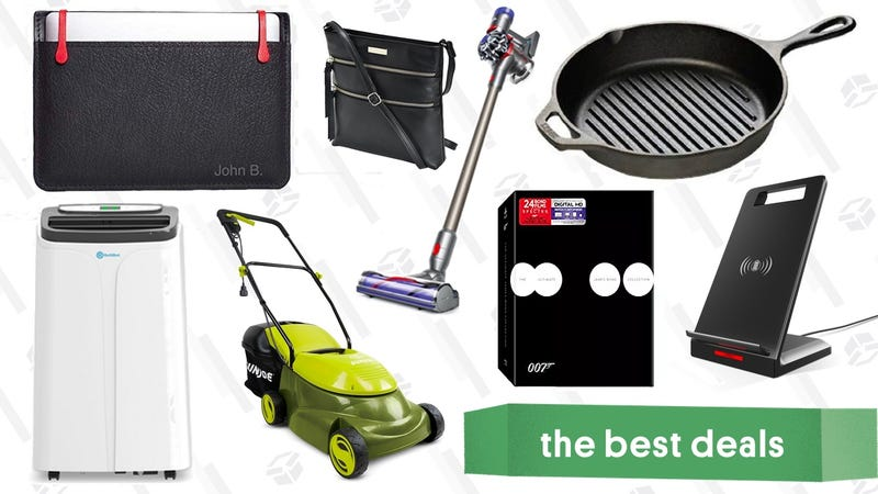 Illustration for article titled Friday's Best Deals: eBay Sitewide Sale, Laptop Sleeves, Electric Lawn Mower, and More