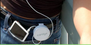 Illustration for article titled Cordgo Portable Gadget Cord Control System