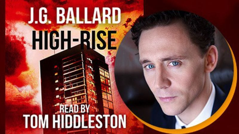 Illustration for article titled Tom Hiddleston is a man of strange appetites in this High-Rise audiobook clip