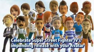 Illustration for article titled Xbox 360 Avatars Get Super Street Fighter IV Costumes.