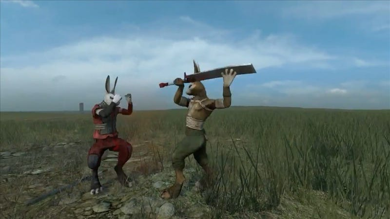 Illustration for article titled After 200 Alpha Builds, Overgrowth is Still All About Rabbit Violence