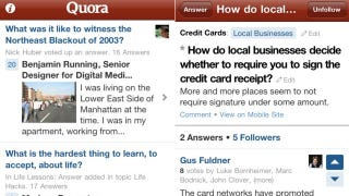 Illustration for article titled Quora Will Answer All Your Questions with Its New iPhone App