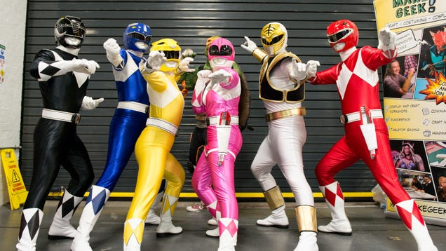 Hollywood shrugs, figures it's bound to make a good Power Rangers movie one of these days
