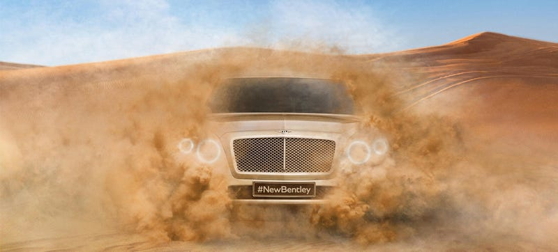 Illustration for article titled New Bentley SUV Ditches Giant 'Surprised Cartoon Eye' Headlights