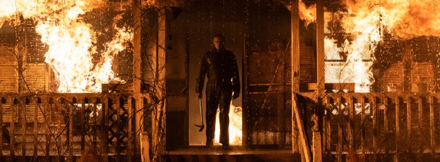 Halloween Kills  First Trailer Reveals Something Not-So-Shocking About Michael Myers  Fiery Fate