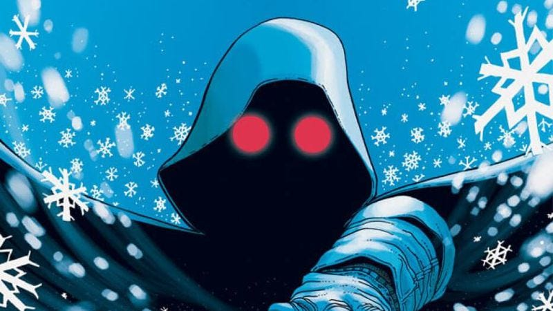 Illustration for article titled Exclusive Image preview: A climate change thriller begins in Snowfall #1