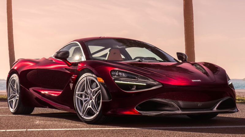 Not Ice-T's 720S, but we had the rights to run this photo and it looks close enough.