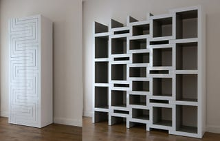Illustration for article titled The REK Bookcase Grows to Accommodate Your Collection