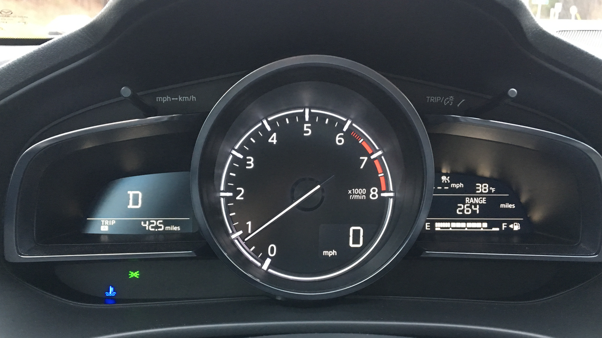 The 2018 Mazda 3 May Have The Best No-Bullshit Instrument Cluster