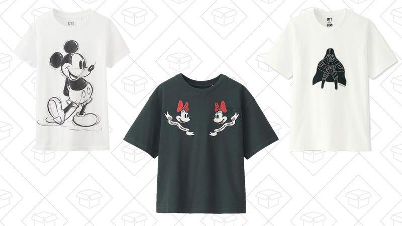 Uniqlo Disney Shirt Sale