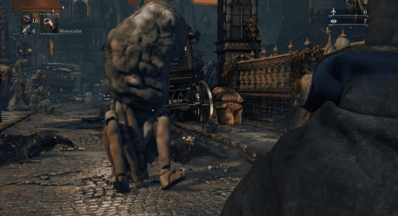 Here Are Five Deleted Bloodborne Characters, Working In-Game